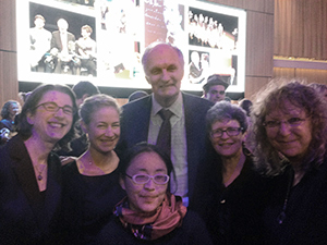 Alan Alda with Isle of Klezbos