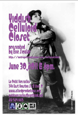 Isle of Klezbos and Eve Sicular: Yiddish Celluloid Closet poster